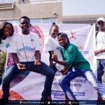 Young People during the #UHCDAY2018 Flash Mob   PhotoCredit:Pem Musa