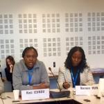 Kosichukwu in Geneva for UHC