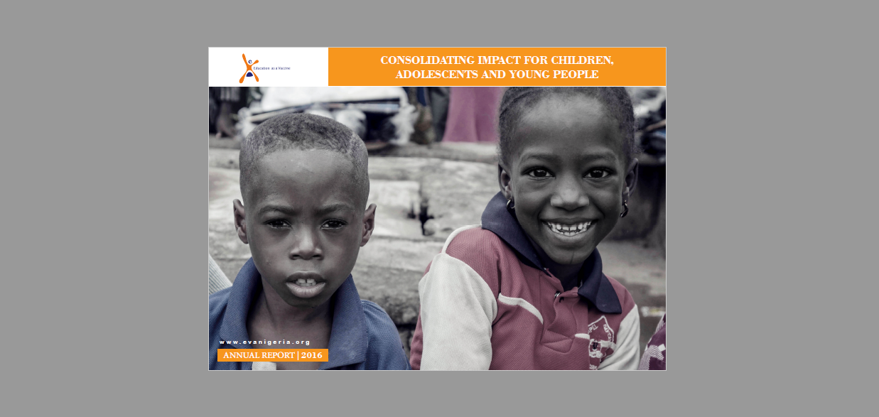2016 Annual Report: Consolidating Impact for Children, Adolescents and Young People