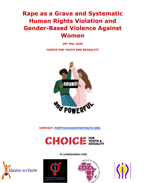 Rape as a Grave and Systematic Human Rights Violation and GBV Against Women