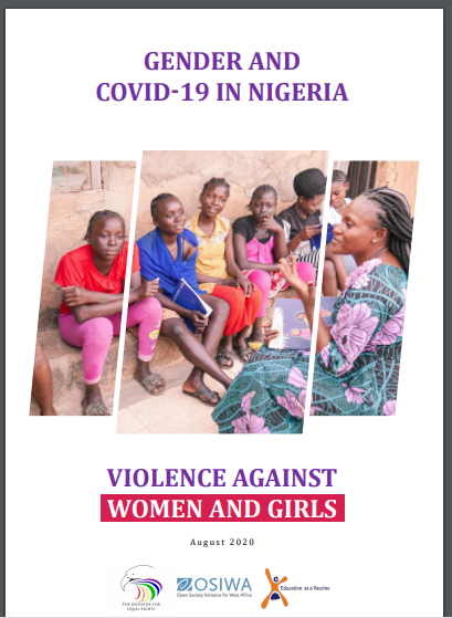 Status Report on Gender and Covid-19 in Nigeria: Violence against Women and Girls