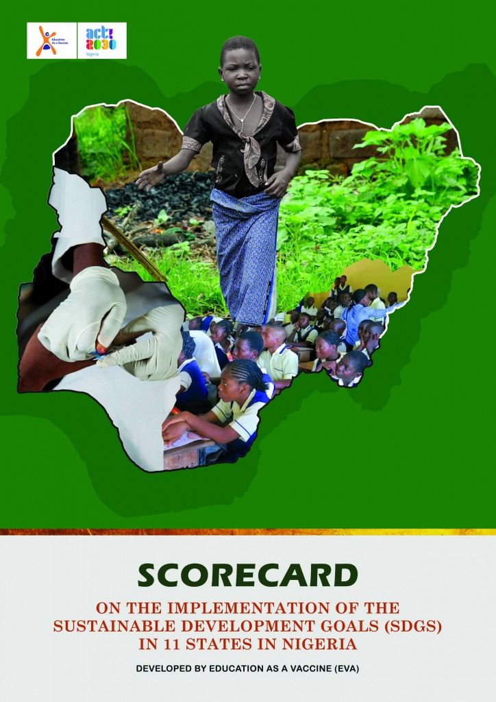 Score Card On the Implementation of SDGs In 11 states in Nigeria