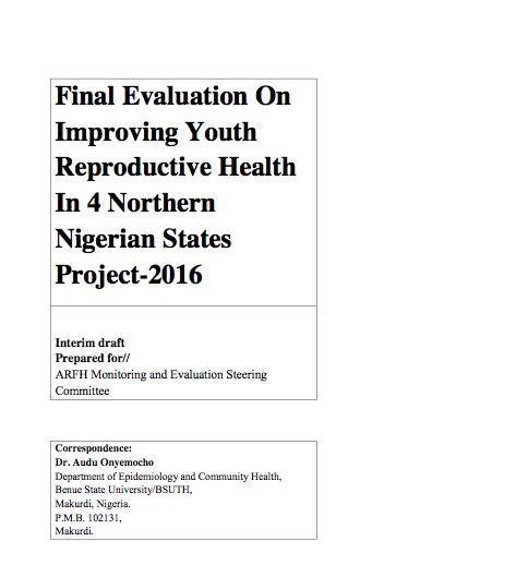 Final Evaluation Report for Y-Access Project